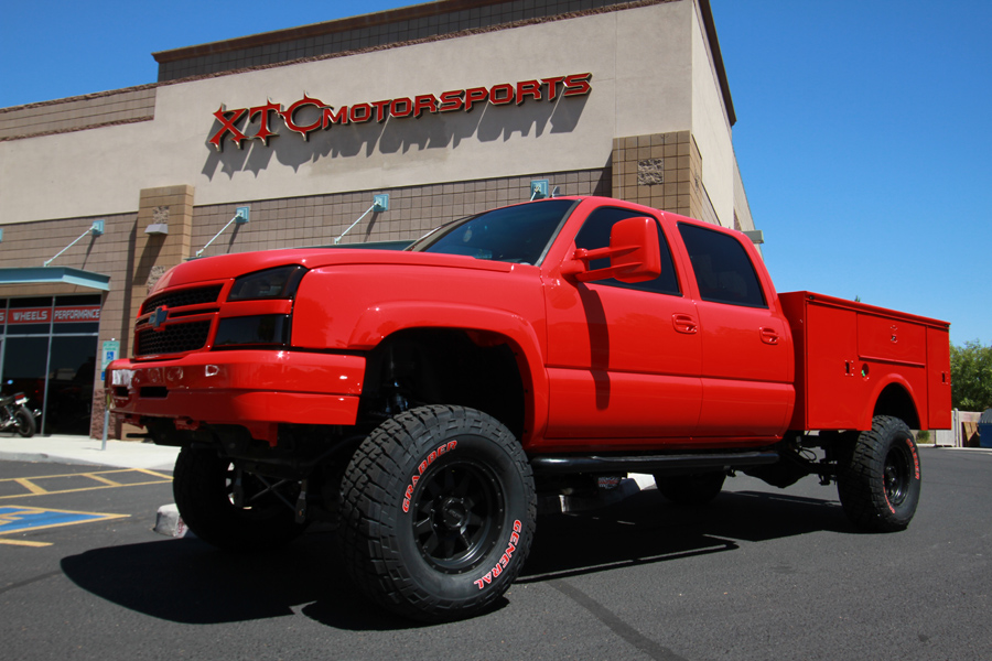 Chevy 2500hd Chase Truck