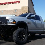 We had Keith's 2014 Ram 2500 in a while back and had a apply some major attitude to this beast. We put on a ReadyLift 6