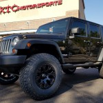 Eric & Shay brought in their 2010 Jeep Wrangler Unlimited for a Rubicon Express Inc. 2.5