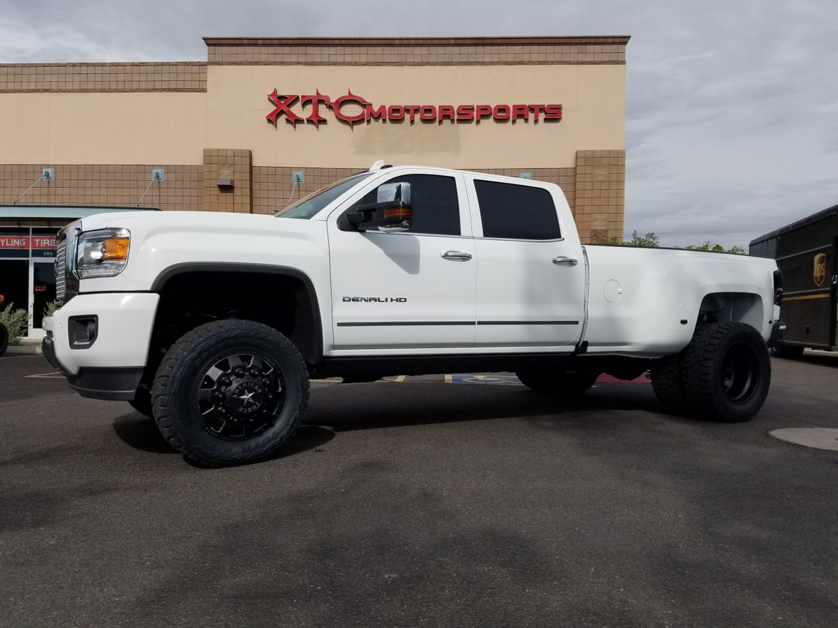 Wrapsheet The Low Down Mike Brought In This 2016 Gmc Sierra 3500hd Denali Dually