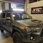 Rick brought his 2016 Toyota USA4 Runner for some Rigid Industries - LED Lighting. A 50