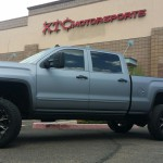 Spencer brought his 2015 GMC 2500HD Denali a while back to have us put an ICON Vehicle Dynamics leveling kit and 2.5