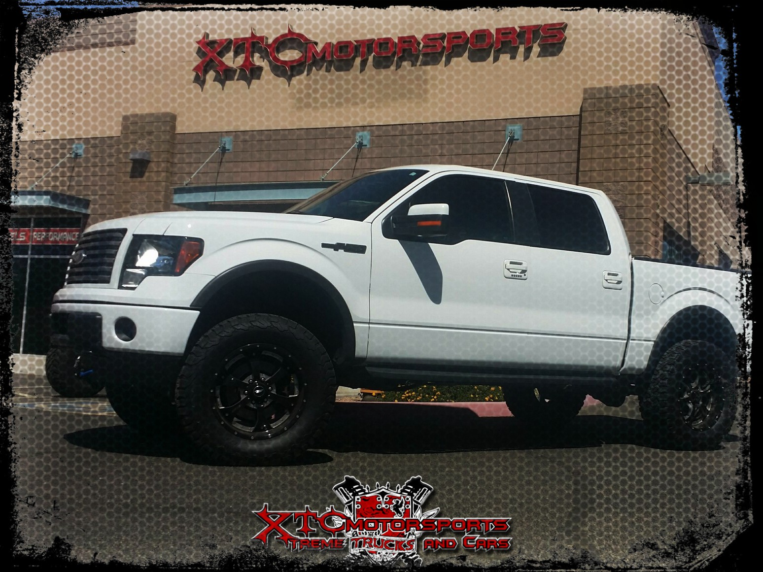 """It's been a while since we did this truck and never got any photos, well we had it back in the shop today so we grabbed some shots of Ryan's F150 that we put a BDS Suspension 6"""" Lift on with ICON Vehicle Dynamics 2.5 Front Coilovers & rear 2.0 shocks, Maxtrac Suspension 2"""" rear blocks, 325/60R20 BFGoodrich Tires KO2 tires on these BMF wheels he already sported on this truck."""