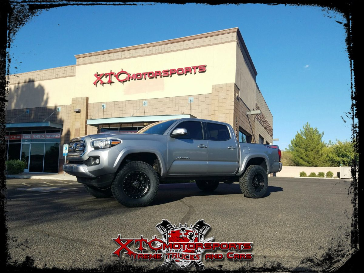 2016 Toyota Tacoma with Icon Stage 3 suspension lift