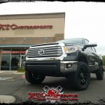 Jen brought in her brand new 2016 Toyota USA Tundra for a ReadyLift Suspension Inc. 3