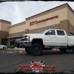 Michael brought us his 2016 Chevrolet Silverado 2500HD for a ReadyLift Suspension Inc. 5-6