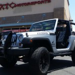 We have done a few things to Bert's 2012 JK 2 door, including some KC HiLites lighting, a 2.5