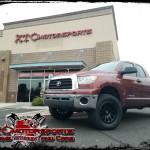 Eric brought in his 2009 Toyota USA Tundra for a ReadyLift Suspension Inc. SST 3