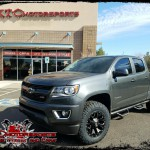 Rich wanted to do some upgrades to his 2016 Chevrolet Colorado Z71 so he wanted XTC Motorsports to do the work for him. We installed a ReadyLift Suspension Inc. 2