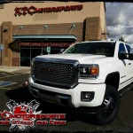 Mike brought in his 2015 GMC Sierra 3500 Dually for a set of Cognito Motorsports Upper Control arms, Fox 2.0 series shocks, and some 285/75R17 Nitto Ridge Grappler tires wrapped around some 17