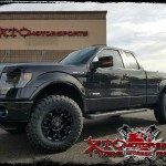 Matt brought in his 2014 Ford Motor Company F150 FX2 for a ReadyLift Suspension Inc. 3.5