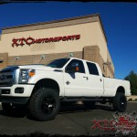 Jeff dropped his 2016 Ford Motor Company F350 Super Duty off for a ReadyLift Suspension Inc. 6.5
