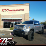 Rad dropped his 2017 Toyota Tundra off for a ReadyLift 6