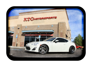 "Gary brought in his 2015 Scion FR-S for Eibach 1.4"" Sportline lowering springs and rear alignment kits."