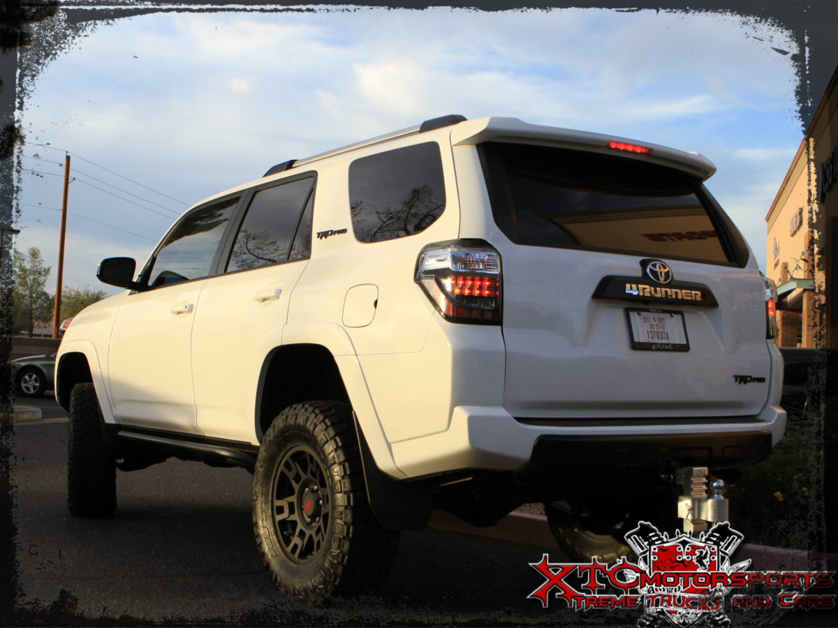 Thomas S 2017 Toyota Usa 4runner Received An Icon Vehicle