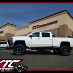 Once again our friends over at azautorv.com brought us a truck to deck out for their lot, this time it was a 2016 Chevrolet Silverado 2500HD that got a 6