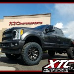 Brandon drove down from the beautiful state of Colorado to have us deck out his brand new Ford Motor Company F-350 Super Duty. We installed a BDS Suspension 4