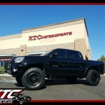 Andy brought in his 2014 Toyota USA Tacoma for an ICON Vehicle Dynamics Stage 3 suspension lift with tubular upper control arms, Method Race Wheels 16x8 NV's, wrapped with 285/75R16 BFGoodrich Tires KO2's, Banks Power Monster Exhaust, & a Volant Performance air intake.