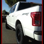 Aaron dropped off his 2016 Ford Motor Company F150 for a ReadyLift Suspension Inc. 2.5
