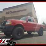 Bob wanted to give his 2008 Ford Motor Company Ranger and little bit of a lift and a nice set of tires & wheels, so we installed a Fabtech Motorsports 3