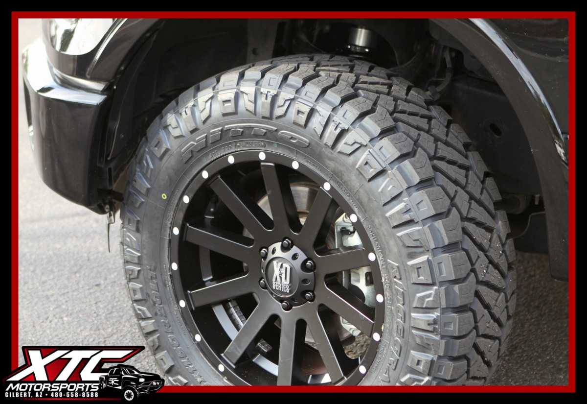 Ford F150 Tires >> We installed an ICON Vehicle Dynamics Stage 1 suspension system, 35x11.50R20 Nitto Tire Ridge ...