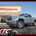Shane brought us his 2017 GMC Sierra 1500 for an XTC Motorsports leveling kit, a set of 18x9 Method Race Wheels MR304 Machined Double Standards, wrapped with a set of BFGoodrich Tires 285/65R18 KO2 all-terrain tires.