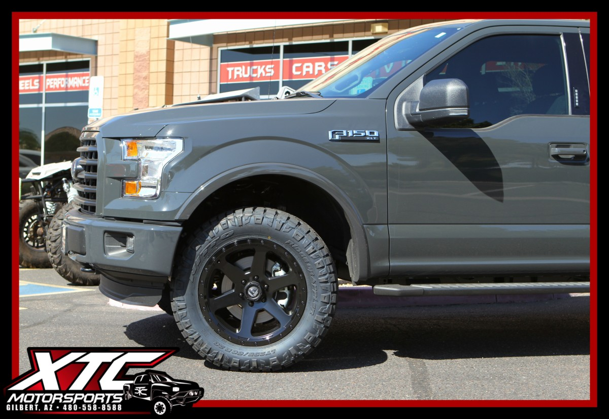 Black Ford F150 >> Chris brought in his 2016 Ford Motor Company F150 for a set of Bilstein Shock Absorbers 5100 ...