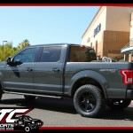 Chris brought in his 2016 Ford Motor Company F150 for a set of Bilstein Shock Absorbers 5100 series adjustable front struts, a set of 295/60R20 Nitto Tire Ridge Grapplers wrapped around a set of 20x9 Fuel Offroad Matte Black Ripper wheels.