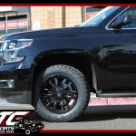 Kevin drop off is 2016 Chevrolet Suburban for an XTC Motorsports 2.5