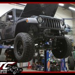 We just wrapped up this awesome build for Josh. We took his 2017 Jeep Wrangler Unlimited and put a ReadyLift Suspension Inc. 4