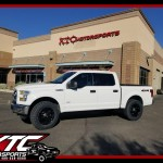 Huston brought in his 2015 Ford Motor Company F150 for a ReadyLift Suspension Inc. 2.5