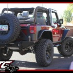 We recently finished up this 2010 Jeep Wrangler JK for Jill. We installed a ReadyLift Suspension Inc. 4