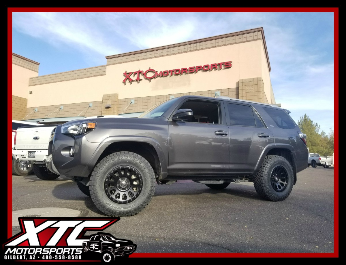 Caroline brought us her 2016 Toyota USA 4Runner for a set ...