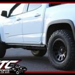 We just wrapped up a 2018 Chevrolet Colorado for Matt at Mountain High Fire & Safety out of Telluride, with a Stage 2 ICON Vehicle Dynamics Suspension system, a set of 285/70R17 BFGoodrich KO2 tires wrapped around a set of 17x8.5 Fuel Offroad Matte Black Vector Wheels.
