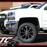 Eddie brought in his 2018 Chevrolet Silverado 1500 for a CST Performance Suspension 5.5