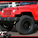 Jessica brought in her 2017 Jeep Wrangler Rubicon for a ReadyLift Suspension Inc. 2.5
