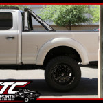 This truck was definitely a project and was well worth it in the end. We installed an ICON Vehicle Dynamics 7