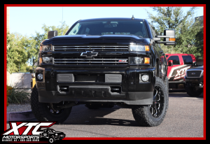 "Rusty brought in his 2016 Chevrolet Silverado 2500HD for a CST Performance Suspension 3-6"" lift with FOX 2.0 Shox."