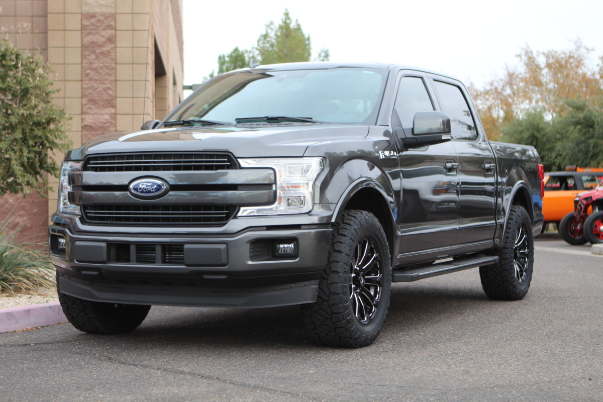 Daystar Leveling Kit >> We just did this 2018 Ford F150 for David Lombardi, we ...